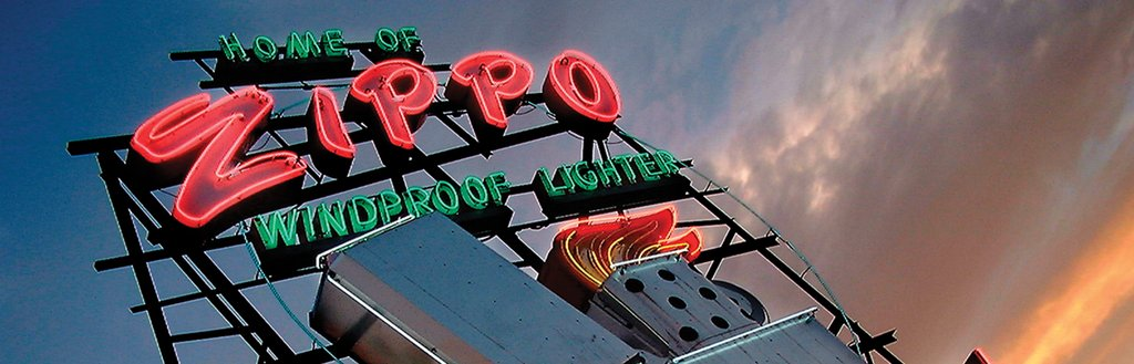 Zippo Historic Sign
